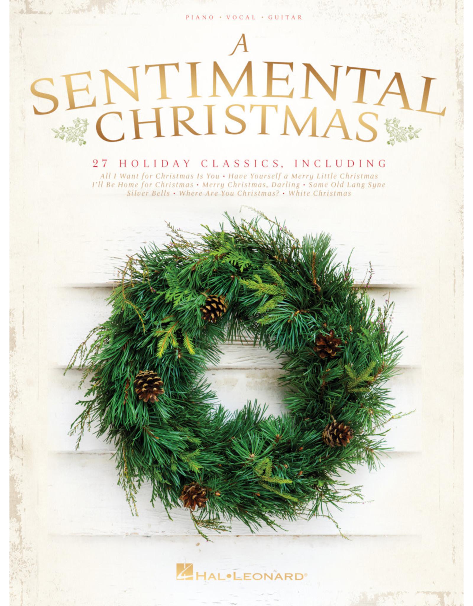 Hal Leonard Sentimental Christmas Book PVG