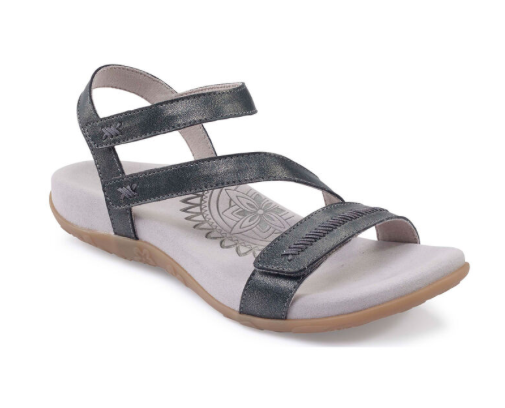 Aetrex Gabby Adjustable Quarter Strap Sandal