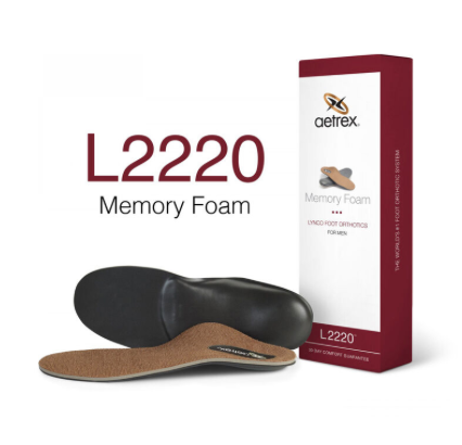 Aetrex Lynco Memory Foam Copper Posted/Neutral L2220