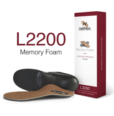 Aetrex Lynco Memory Foam Copper Cupped/Neutral L2200
