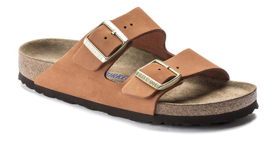 Birkenstock Arizona Soft Footbed Nubuck Leather