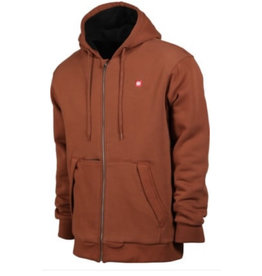 686 MNS SHERPA LINED HOOD SWTSHIRT CLAY M
