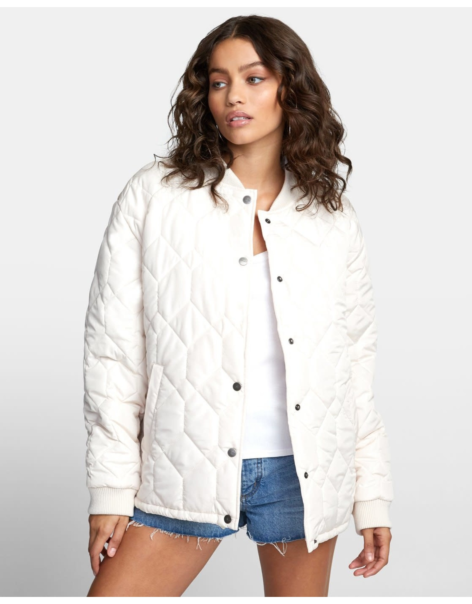 RVCA Downtown Quilted Bomber