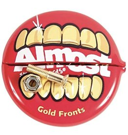 Almost Skateboards Gold Nuts&Bolts In Ur Mouth