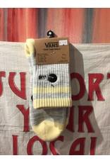 Vans Half Crew Yellow Stripe Sock