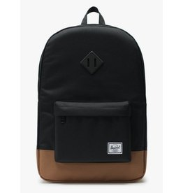 Herschel Heritage Black/Saddle Brown