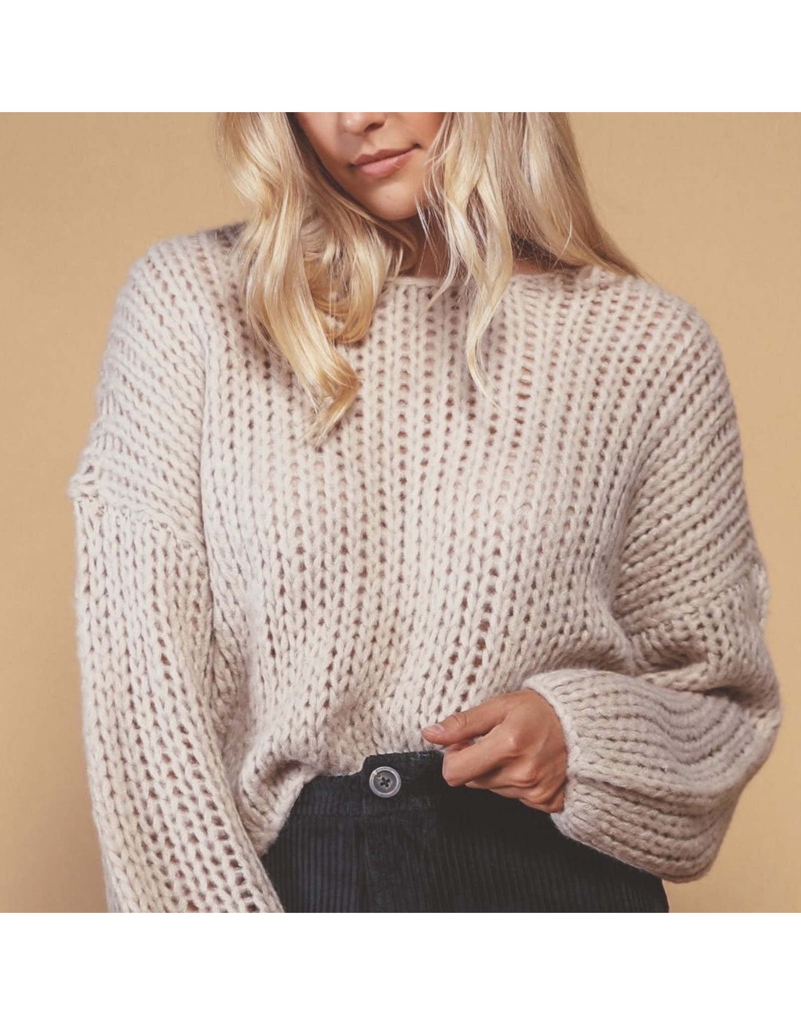 AMUSE Desert Skies Knit Sweater