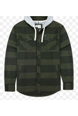 Jetty M's Sherpa Jacket - Dark Green