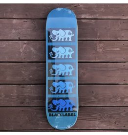 Black Label Stacked Elephant Deck - Blue 8.0