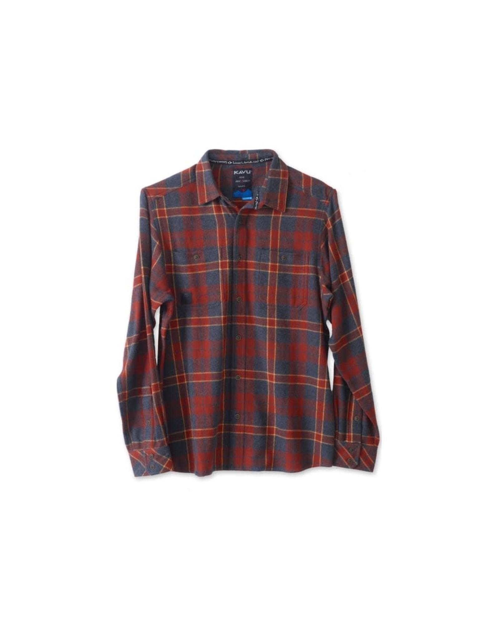 KAVU M's Big Joe Red Oak Shirt