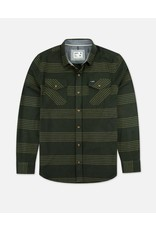 Jetty Mn's Stock Twill Shirt - Olive