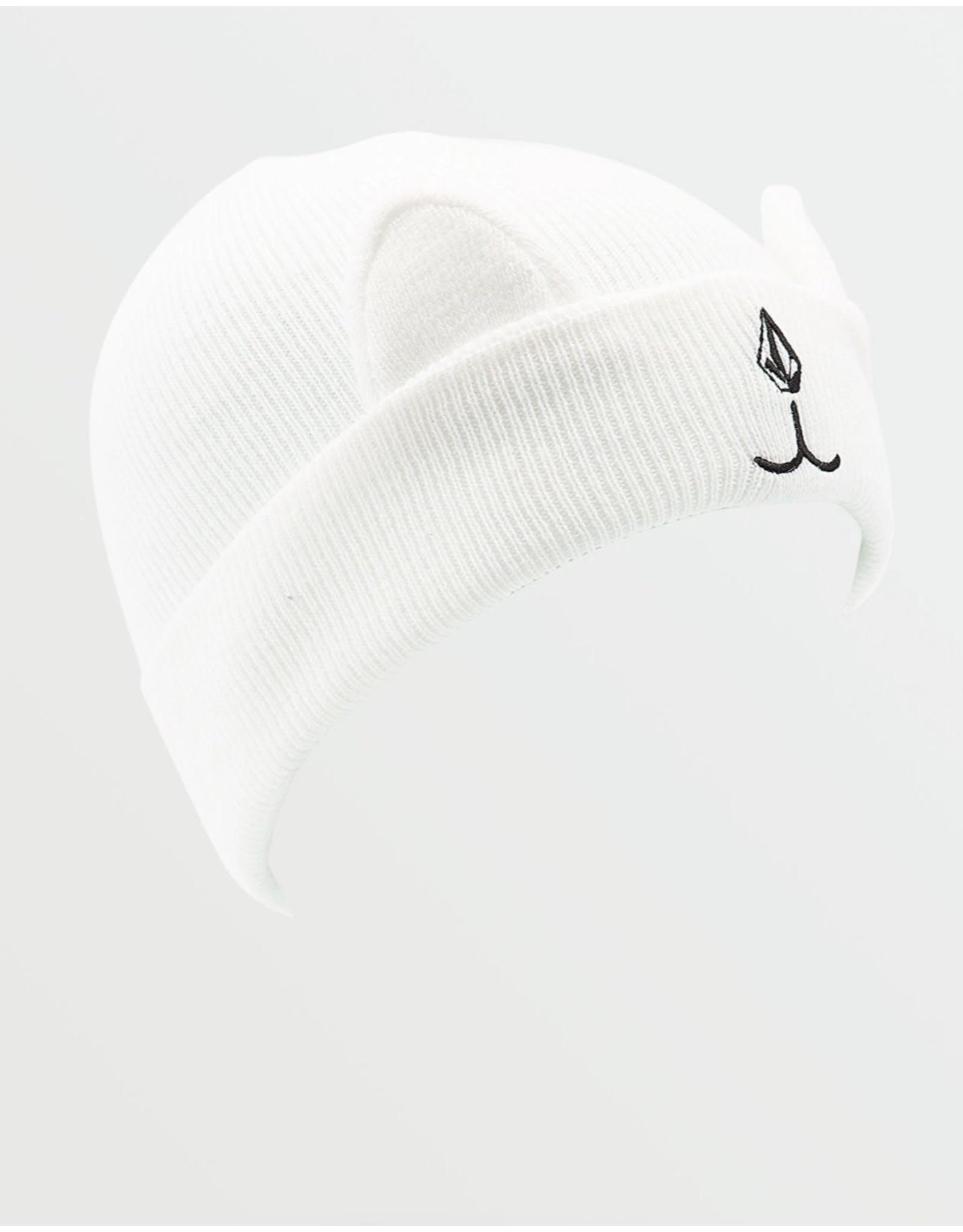 VOLCOM Snow Creature Beanie White