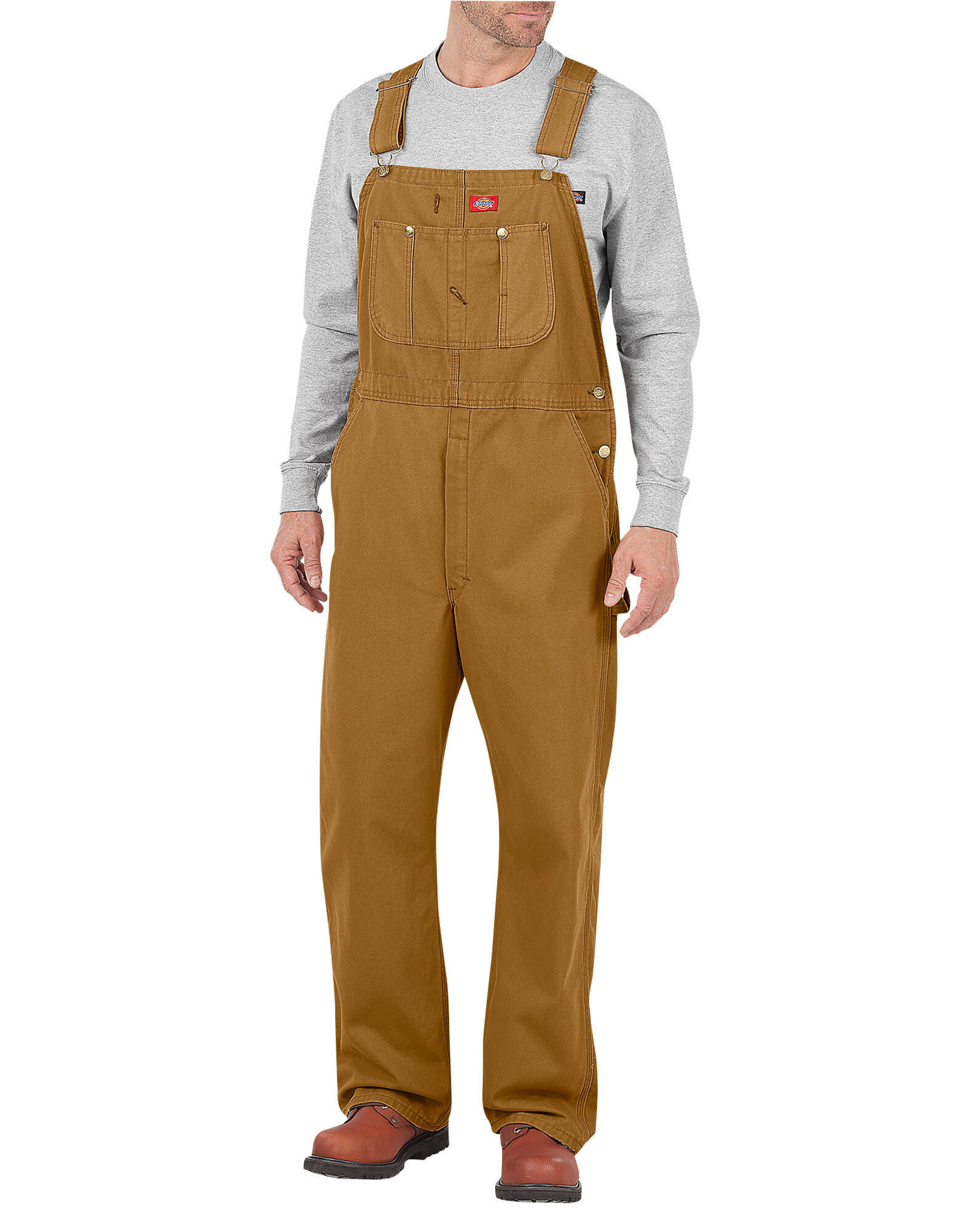Dickies Duck Bib Overall - Brown