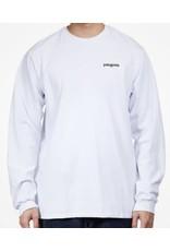 patagonia M's L/S Fitz Roy Scope Responsibili-Tee White XL