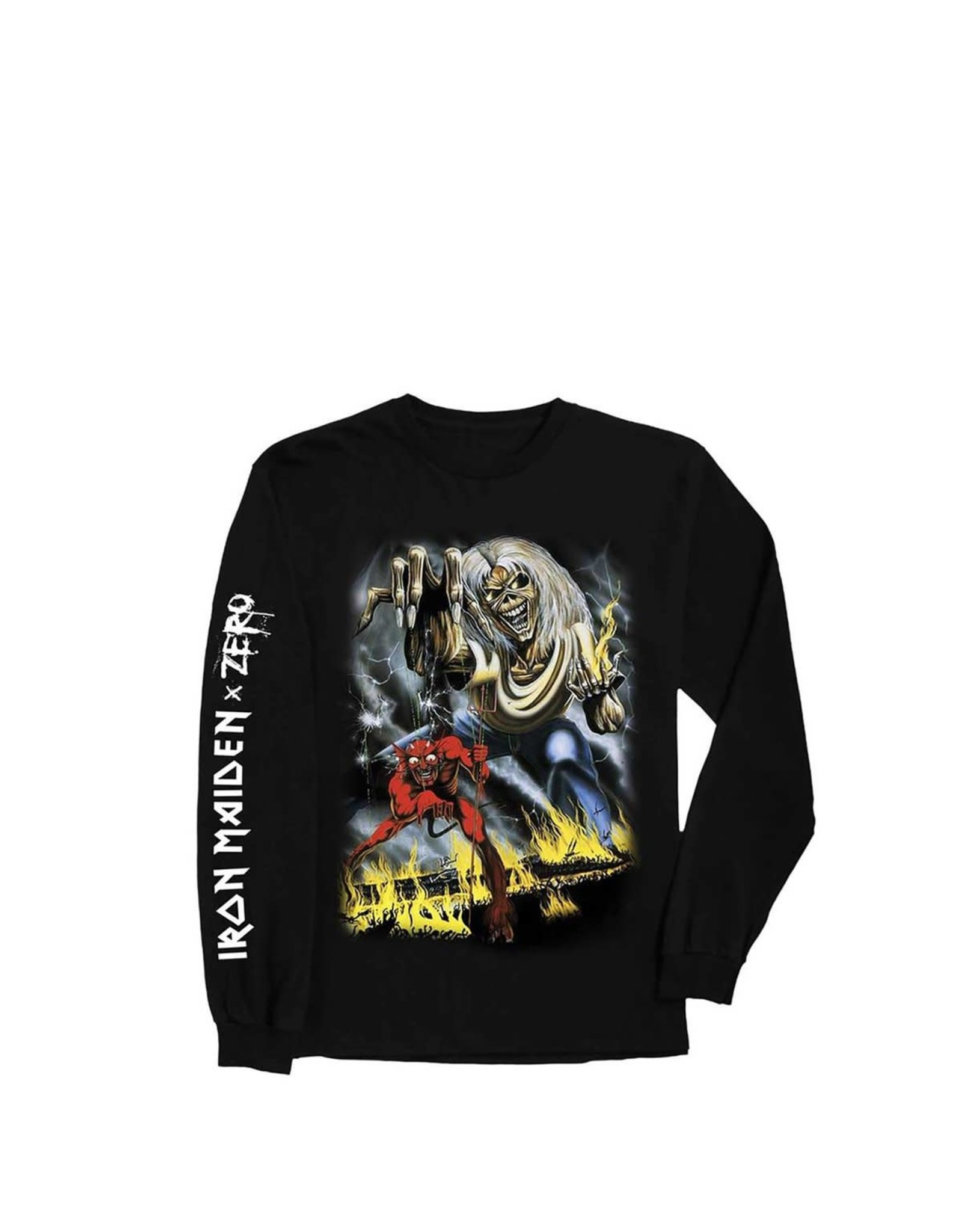 Zero Iron Maiden L/S Tee - Black