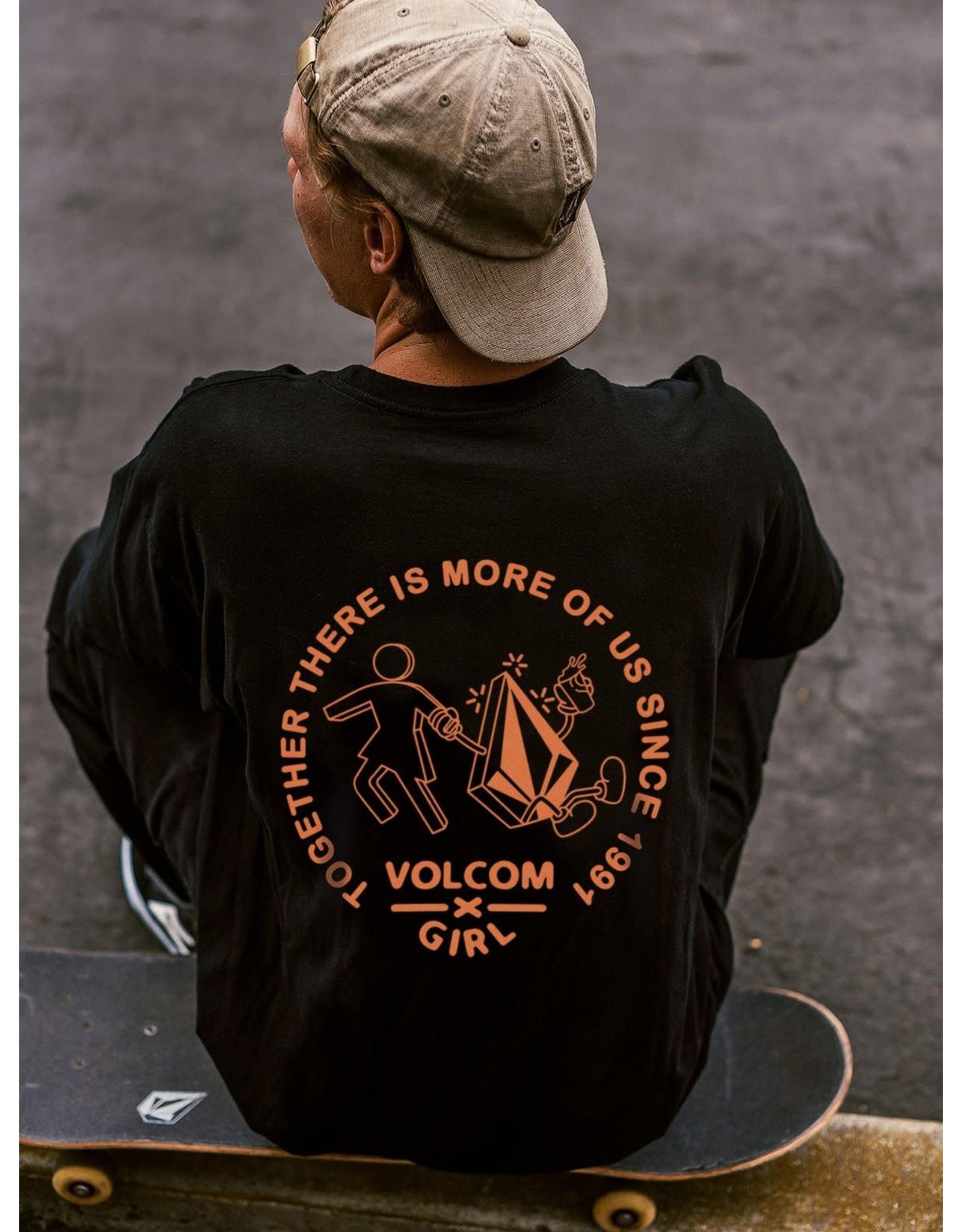 VOLCOM Stonely SS Tee - Black