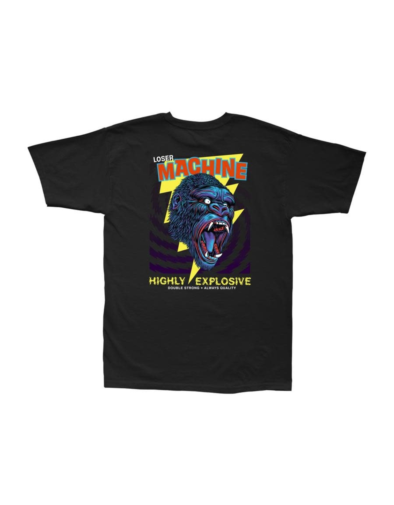 Loser Machine Great Gorilla Tee - Black