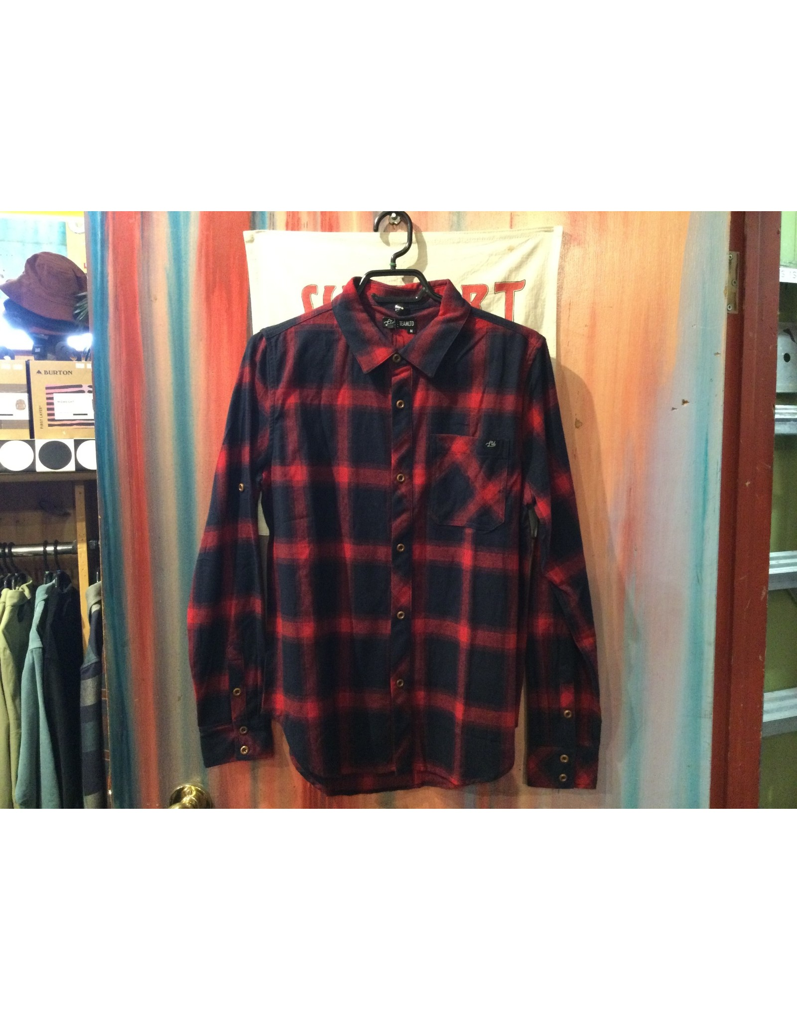 TEAMLTD Campfire Flannel