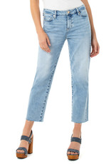 Wm's Jeans Crop Fray Hem
