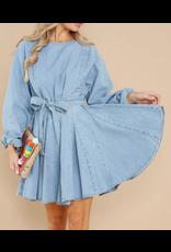MINKPINK Curious Smock Dress