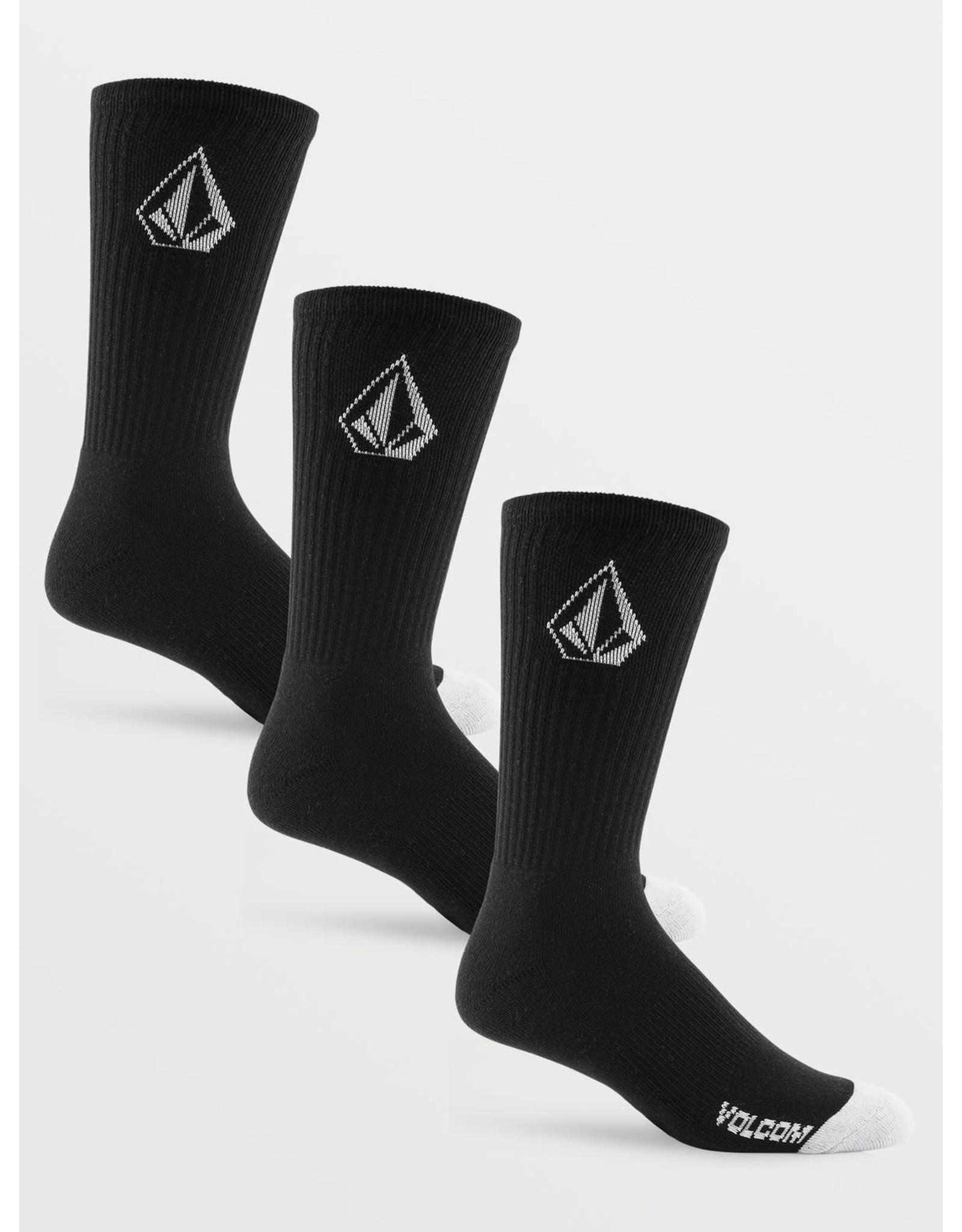 VOLCOM Full Stone Sock 3 PK