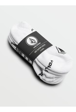VOLCOM No Show Stone Sock 3 PK