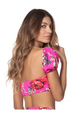 Maaji Ebony Swim Crop Top Bikini Top