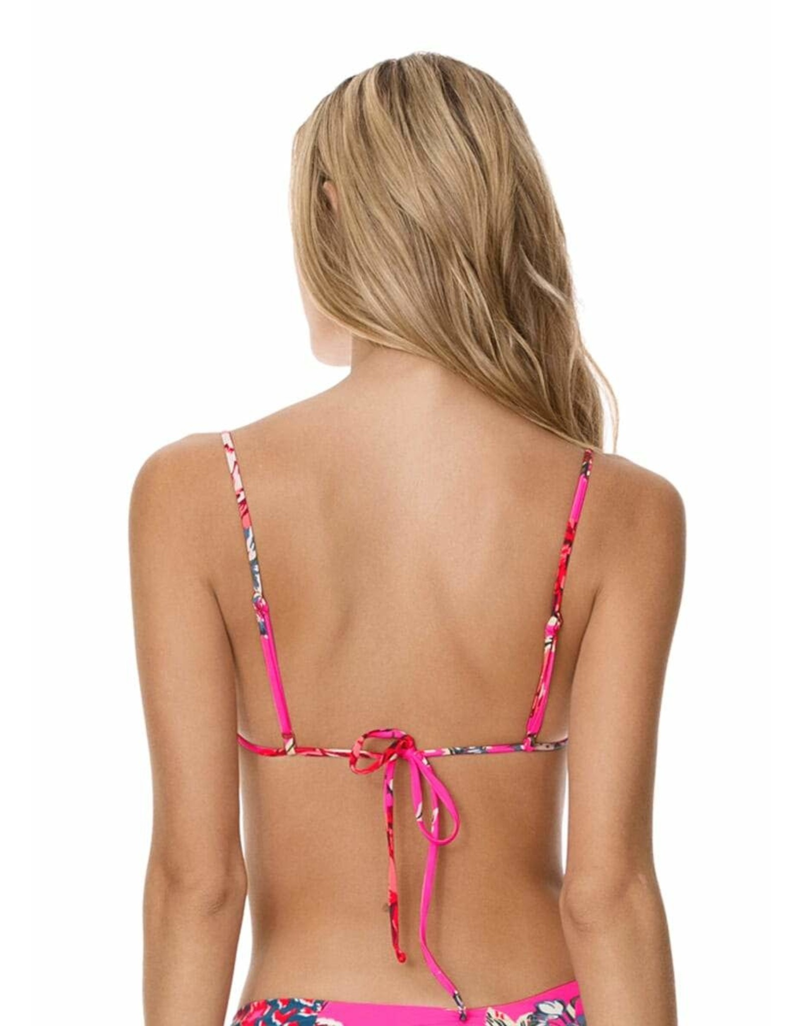Maaji The Greatest Estelle Ruffle Triangle Bikini Top
