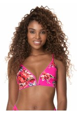 Maaji Parade Long Line Triangle Bikini Top