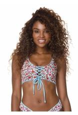 Maaji Danzel Lace Up Bralette Bikini Top