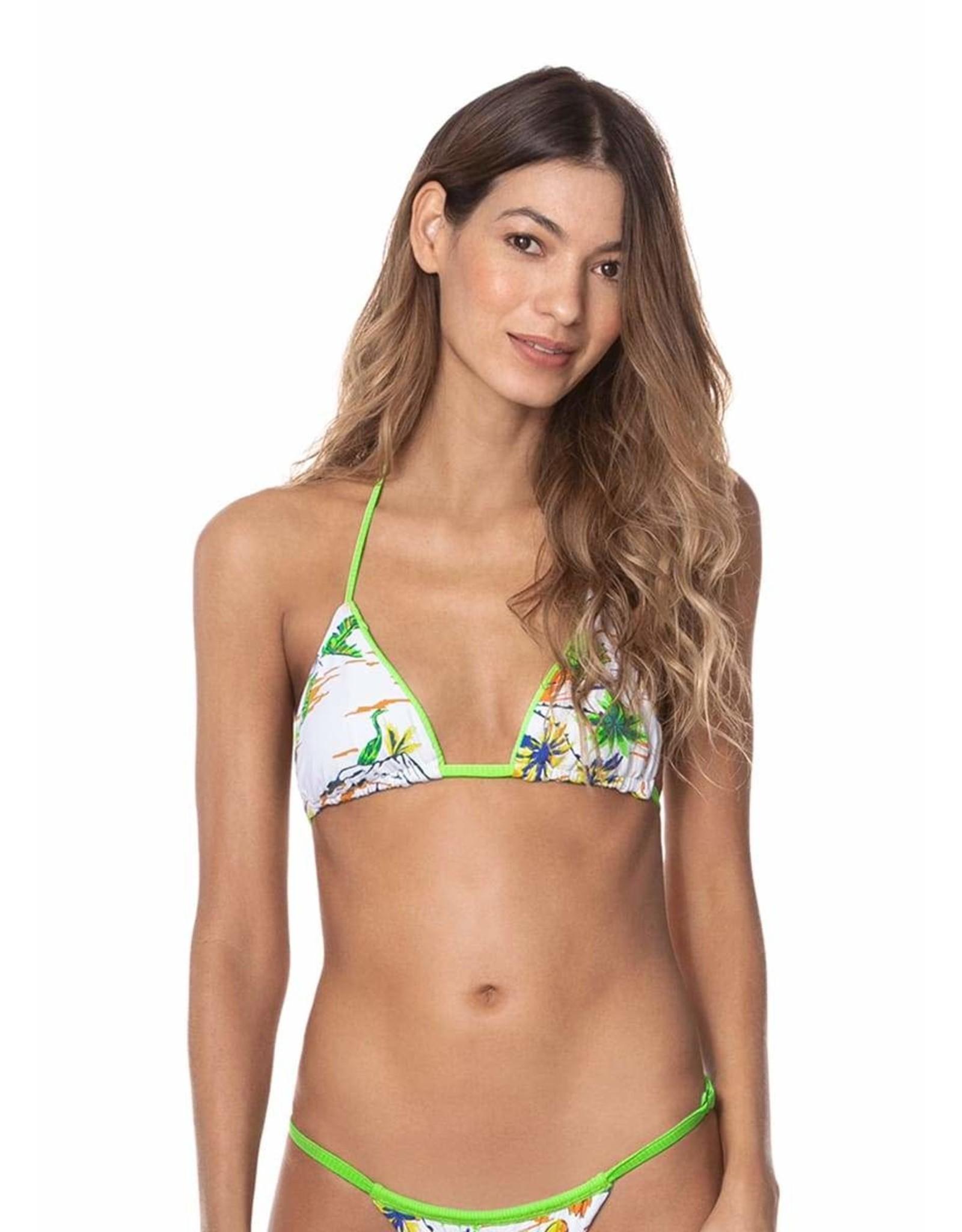 Maaji Edge Sliding Triangle Bikini Top
