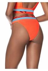 Maaji Sienna High Rise/High Leg Bikini Bottom