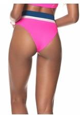 Maaji Susy Q High Rise/High Leg Bikini Bottom