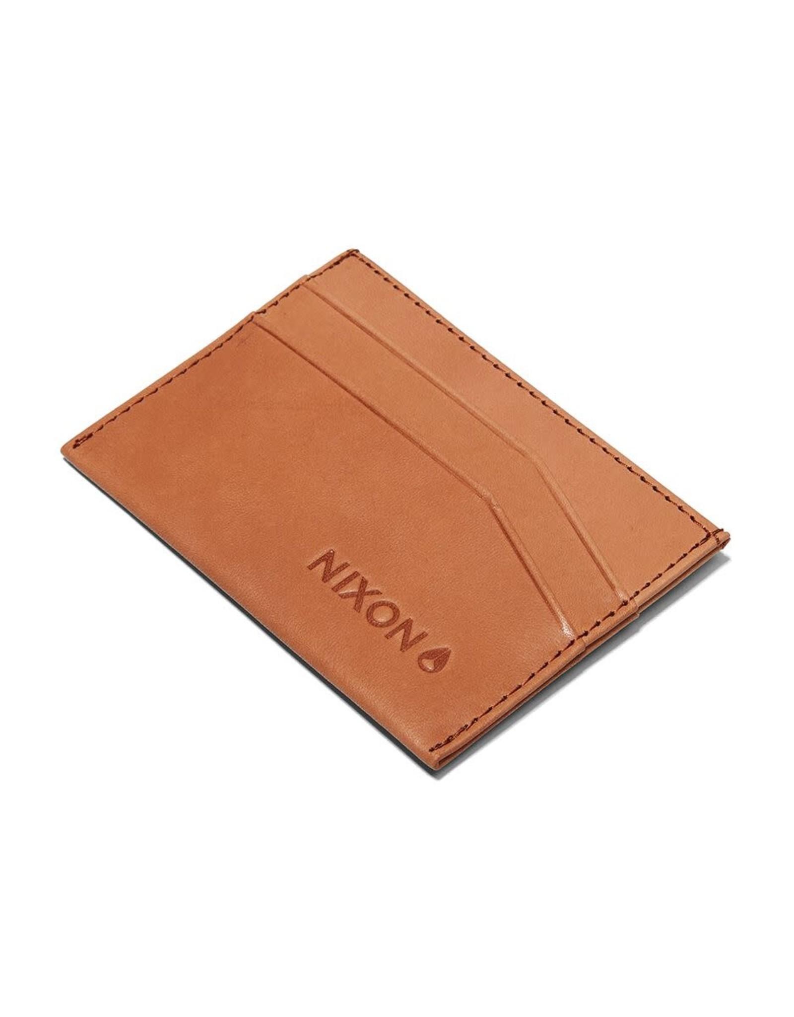 NIXON Flaco Leather Card