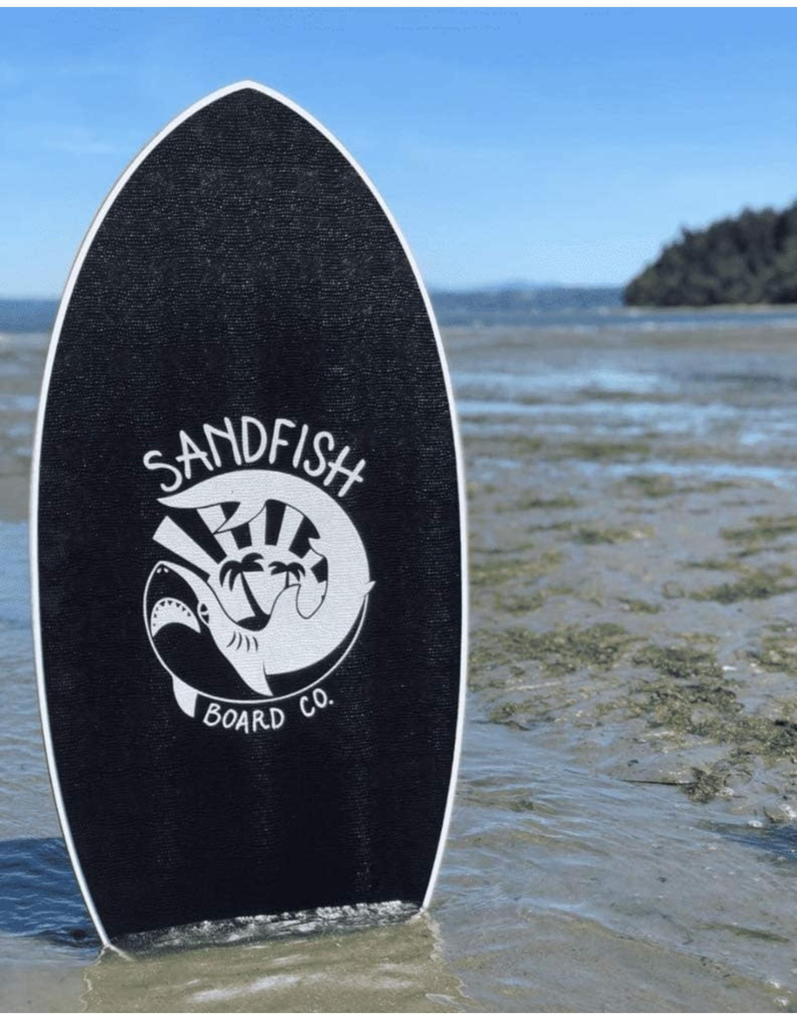 DBSkimboards Sandfish White Foam Traction Pro Cruiser