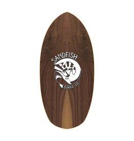 DBSkimboards Sandfish Walnut Woody Grom Cruiser