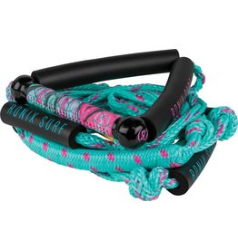 """Ronix Women's Bungee Surf Rope 10"""" Handle 4 Section Rope"""