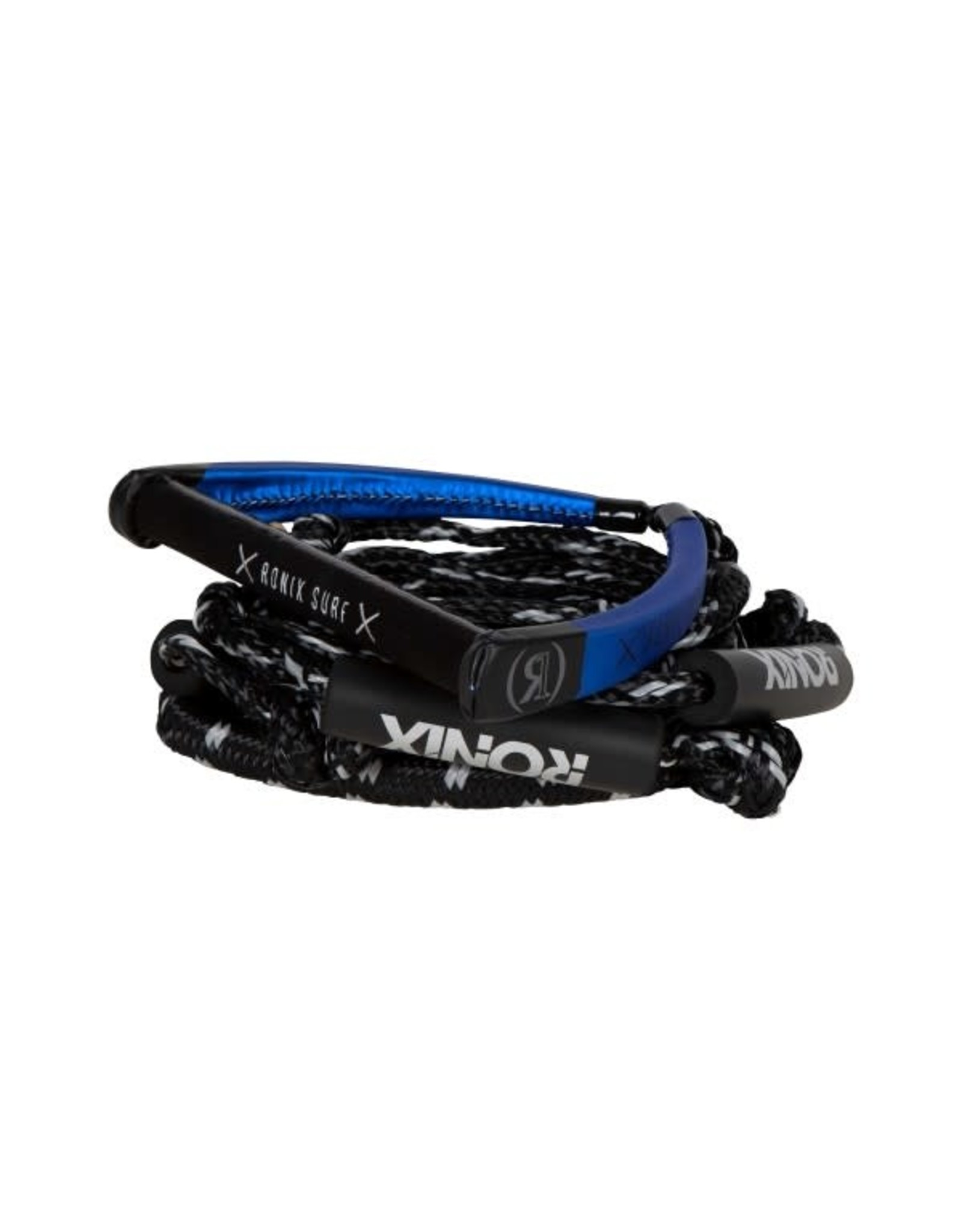 """Ronix PU Synthetic Bungee Surf Rope 10"""" Handle With 4 Section Rope"""