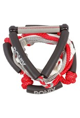 """Ronix Bungee Surf Rope 10"""" Handle Hide Grip 5 Section Rope"""