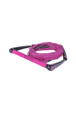 Ronix Women's Combo Dyneema Barlock Hide Grip with 70ft 4 Section Rope