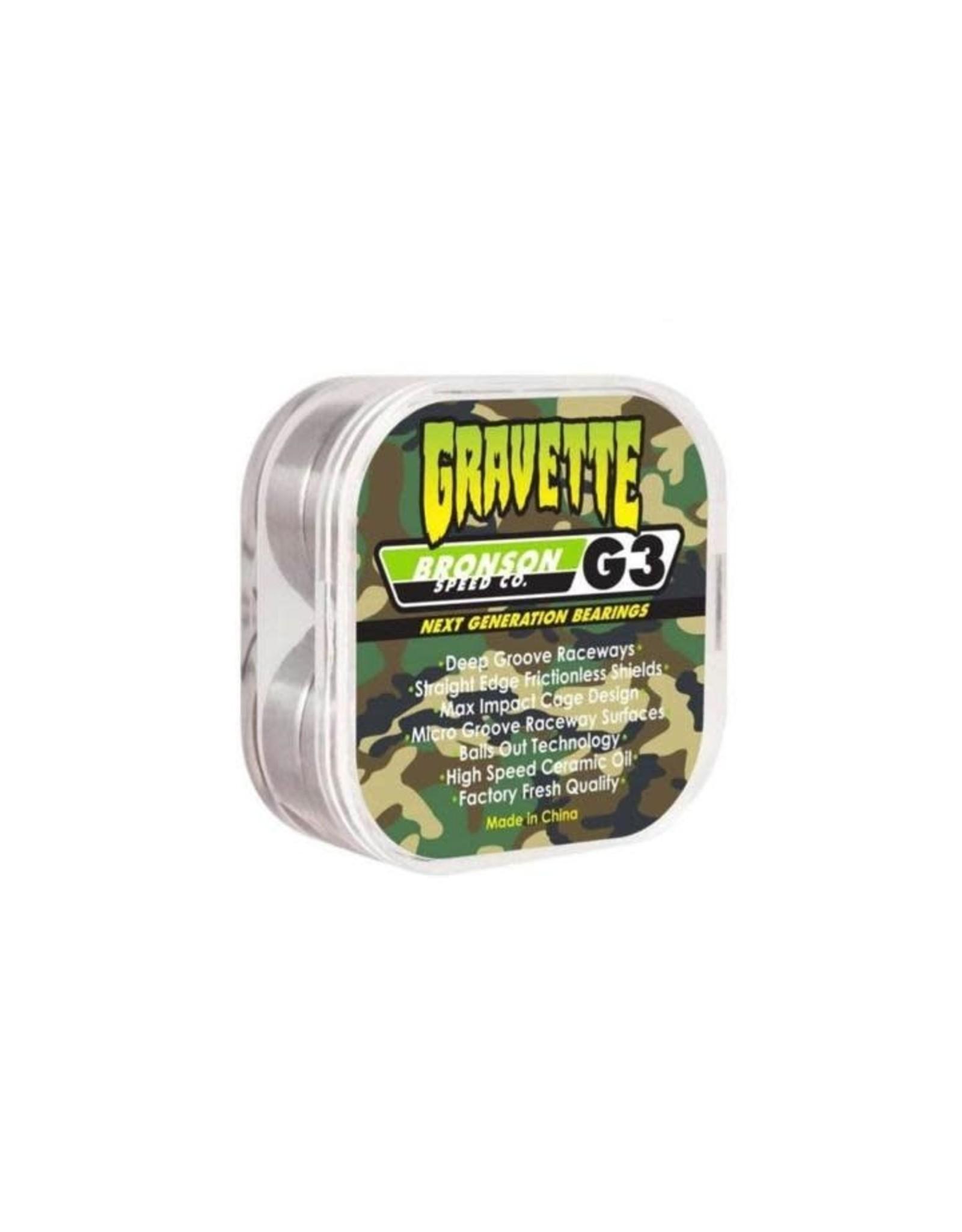 Krux Bronson Pro Bearings G3 David Gravette