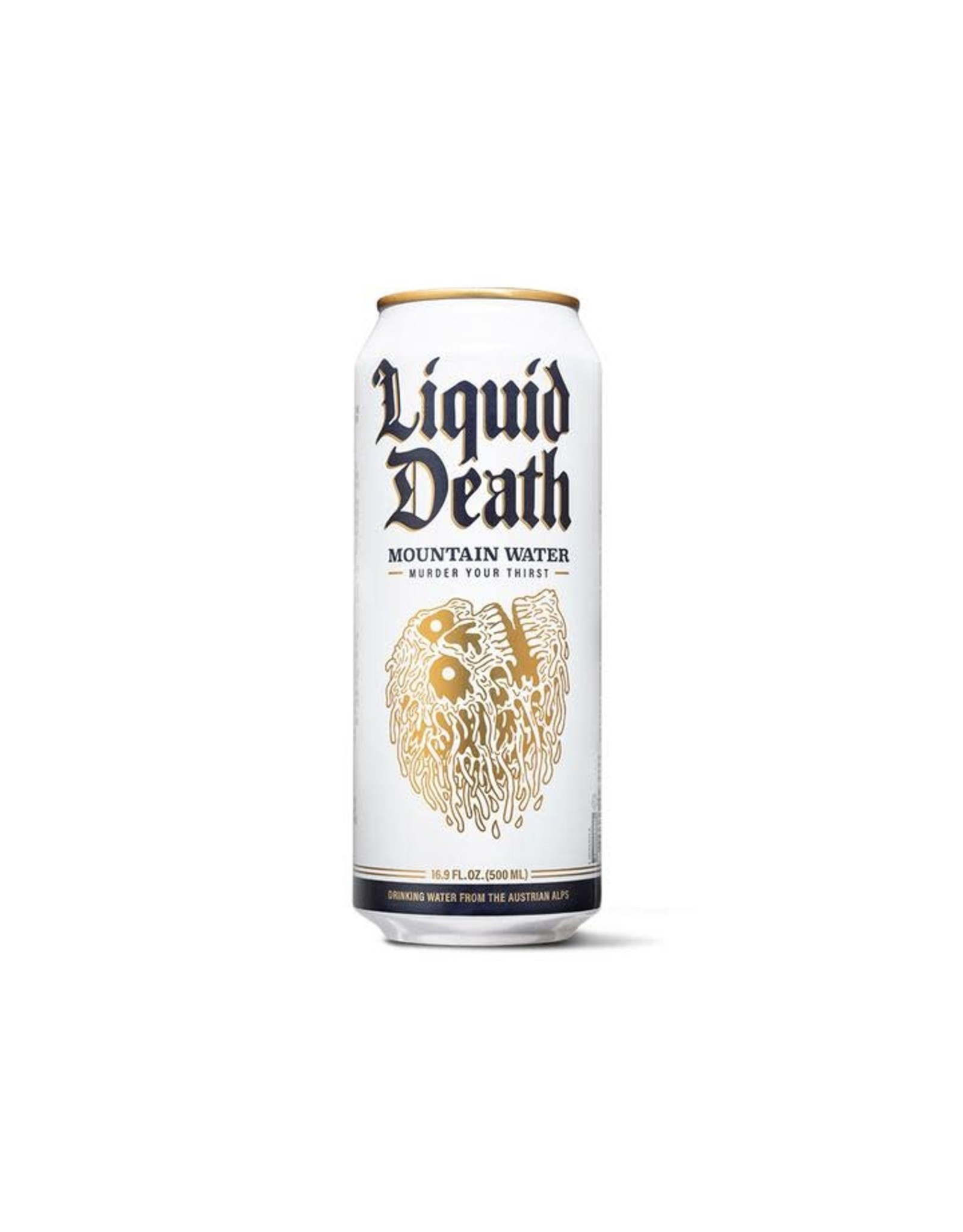 Liquid Death Tallboy Canned Mountian Water