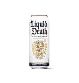 Liquid Death Tallboy Canned Mountain Water