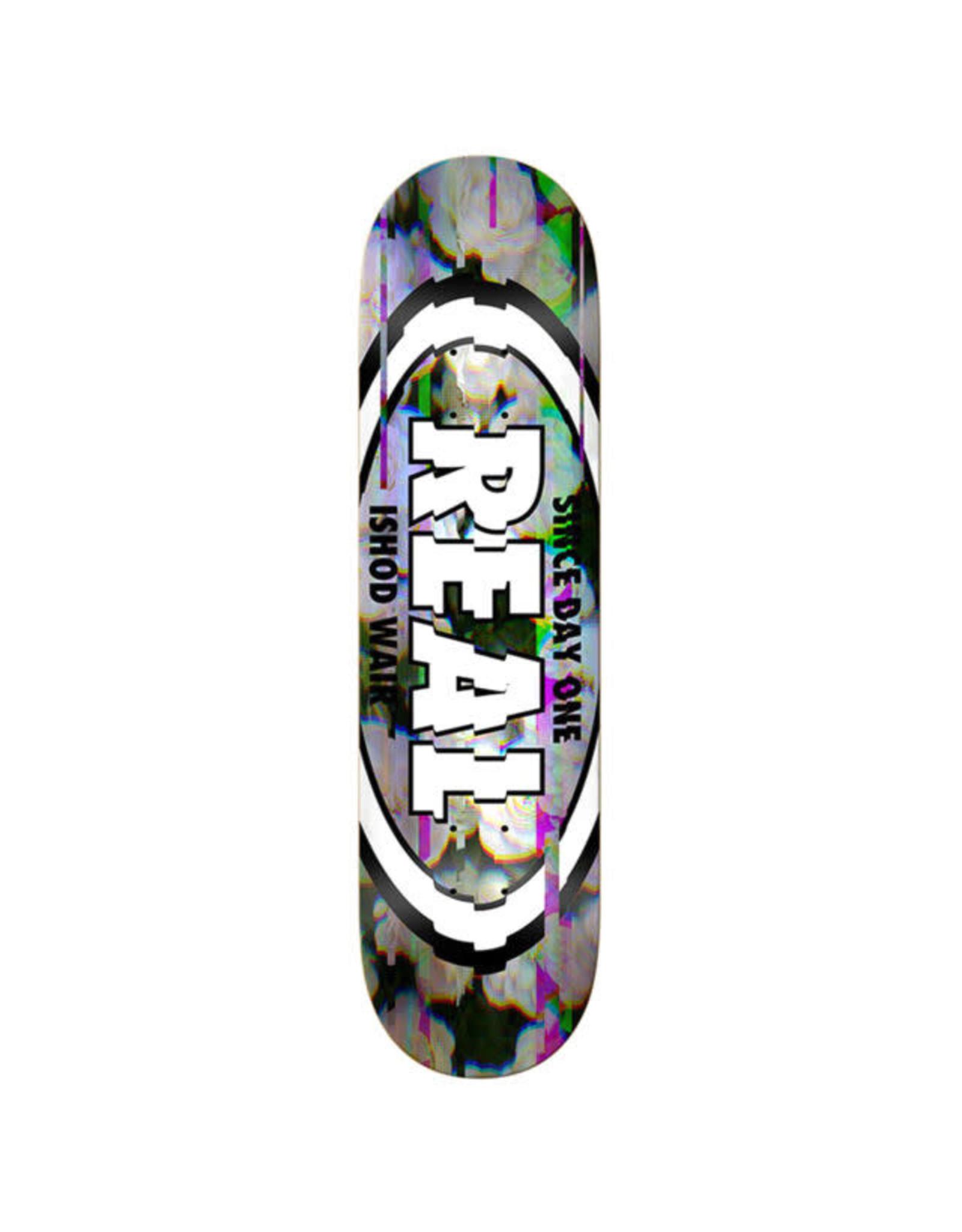 REAL Skateboards Ishod Wair Glitch Oval