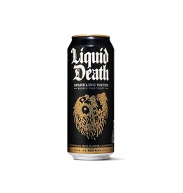 Liquid Death Tallboy Canned Sparkling Water