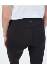 tentree Women's High Rise Pant - BLK - Medium