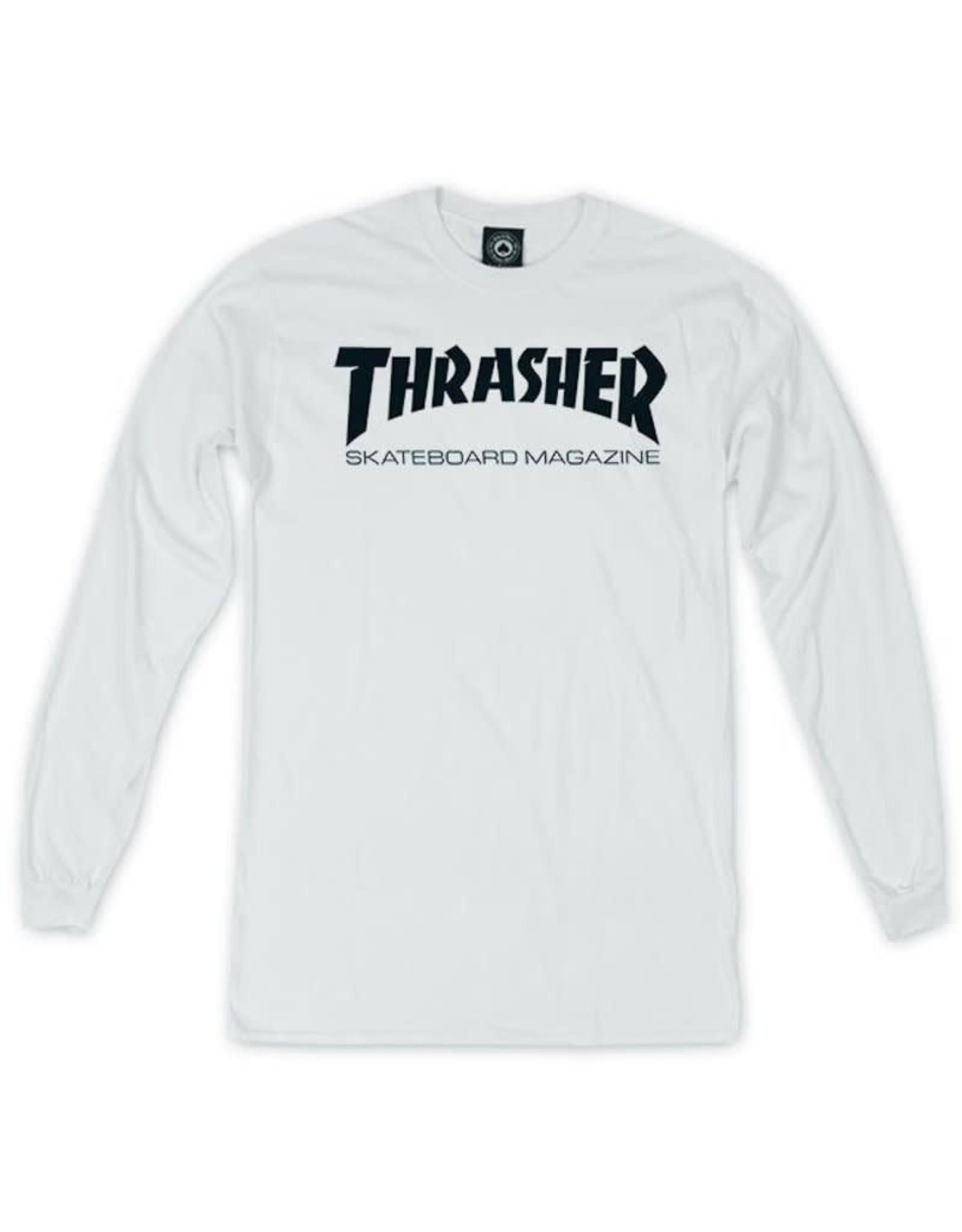THRASHER Logo Long Sleeve