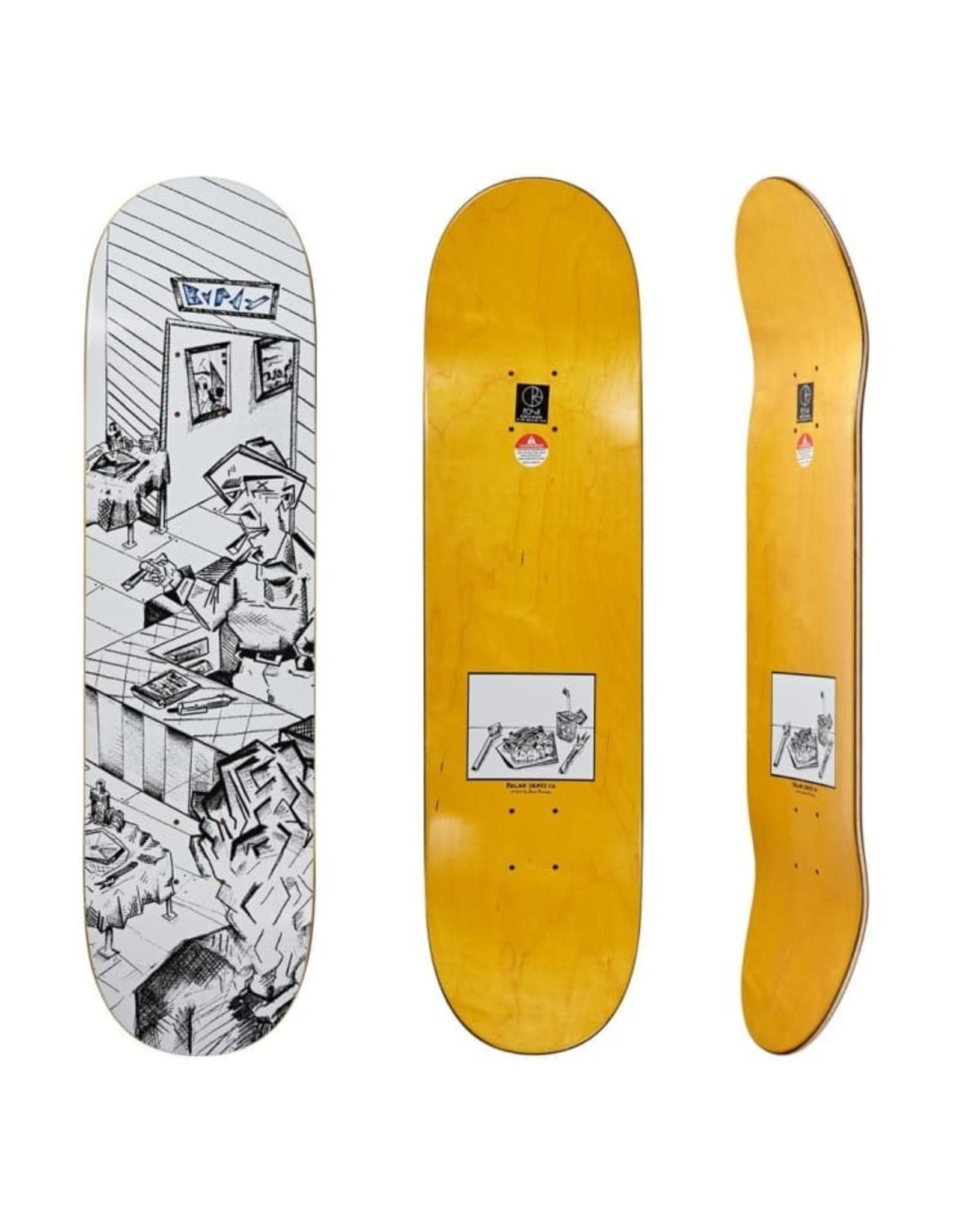 "Polar Skate Co. Dane Brady Bistro Deck (8.25"")"