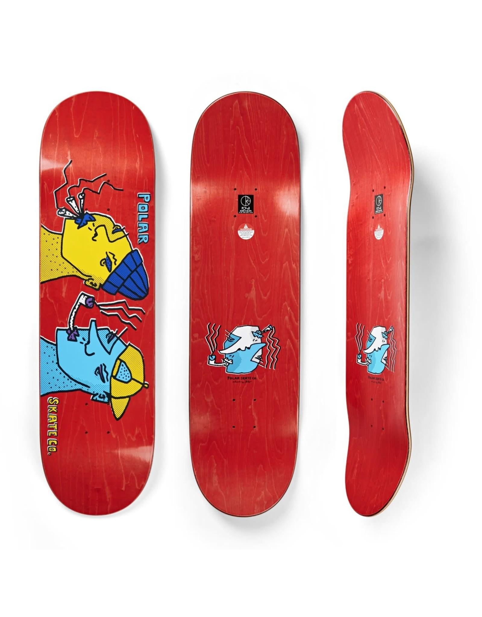 "Polar Skate Co. Smoking Heads Deck (8.375"")"
