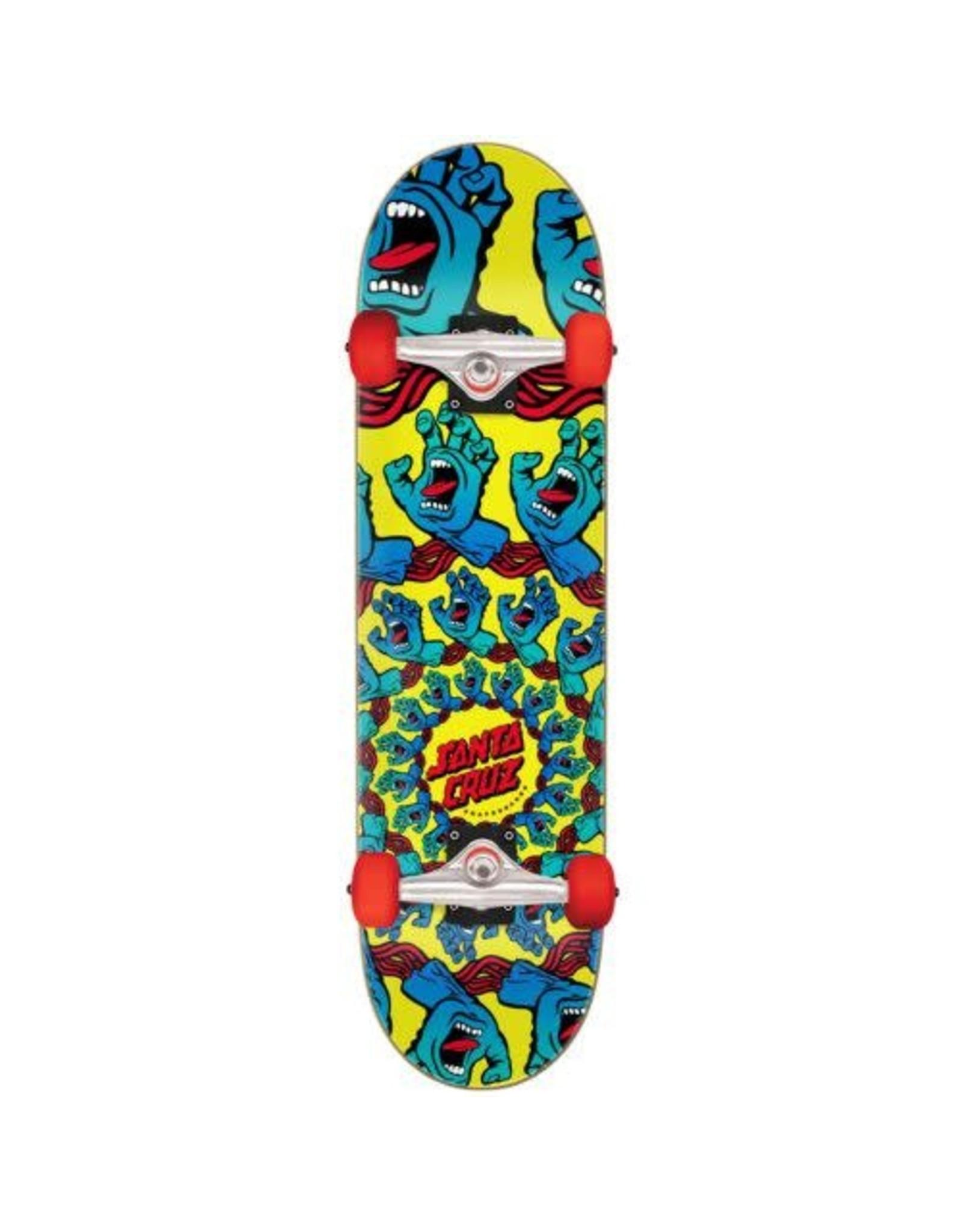 Santa Cruz Mandala Hand Large Complete Skateboard